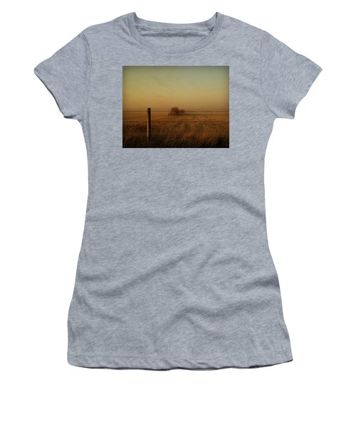 Silence Of Dusk Women's T-Shirt (Athletic Fit)