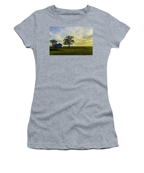 Silos At Sunset Women's T-Shirt