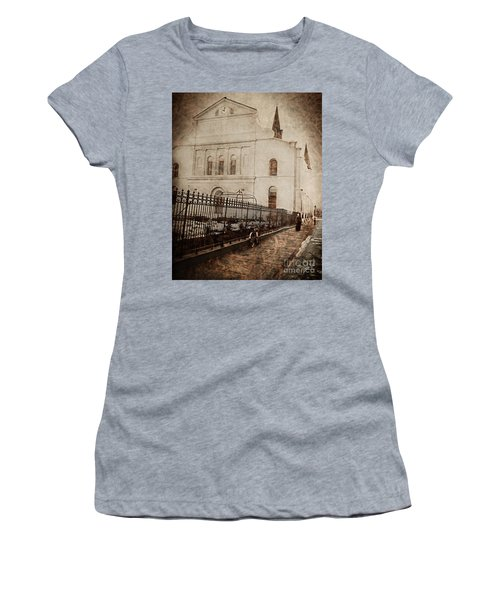 Simpler Times Women's T-Shirt (Athletic Fit)