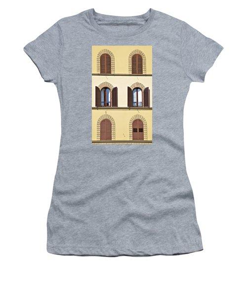 Six Windows Of Florence Women's T-Shirt
