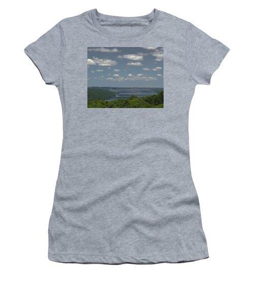 Skaneateles Lake Women's T-Shirt (Athletic Fit)