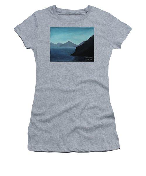 Skopelos Greece Women's T-Shirt (Athletic Fit)