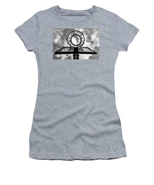 Sky Hoop Basketball Time Women's T-Shirt