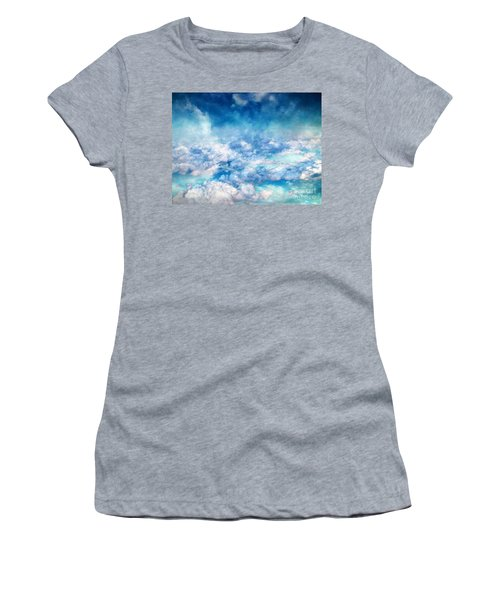 Sky Moods - A View From Above Women's T-Shirt (Athletic Fit)