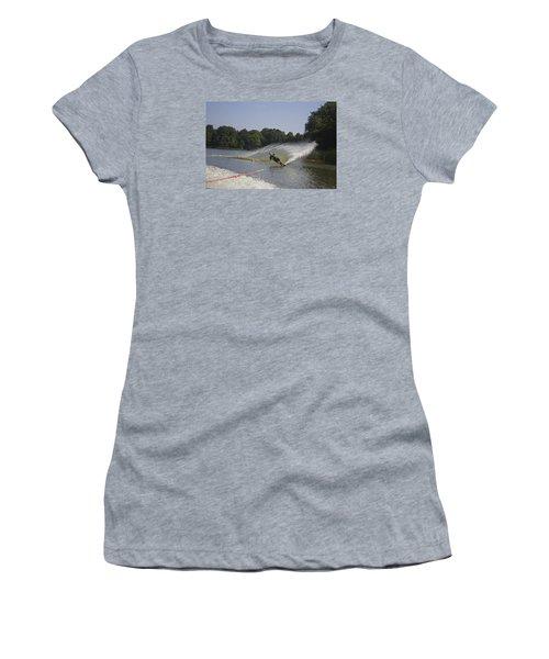 Slalom Waterskiing Women's T-Shirt