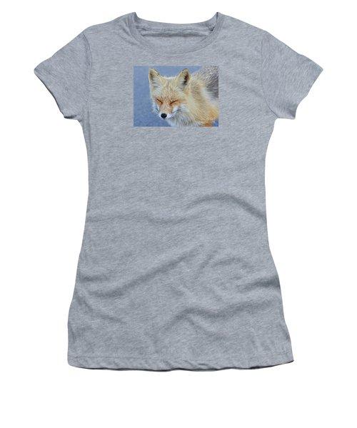 Women's T-Shirt (Junior Cut) featuring the photograph Sleep Walking by Sami Martin