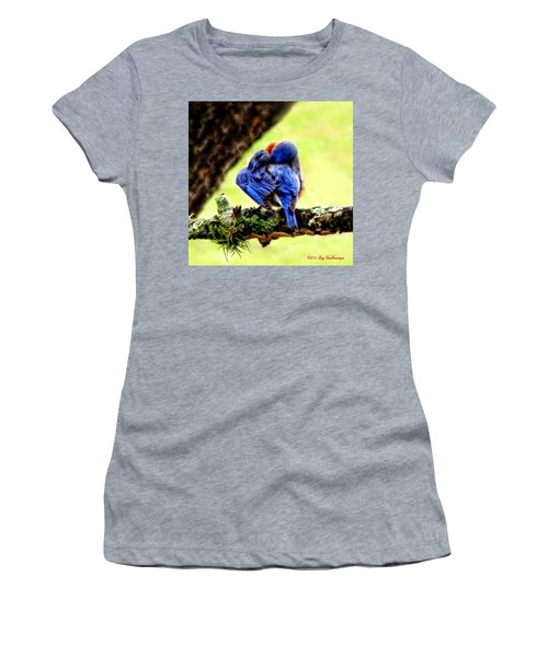 Sleepy Bluebird Women's T-Shirt