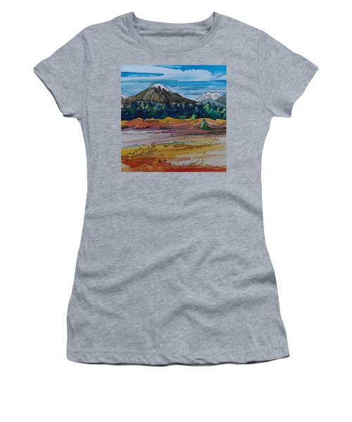 Small Sunriver Scene Women's T-Shirt