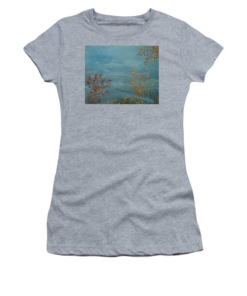 Smoky Mountains In Autumn Women's T-Shirt (Athletic Fit)