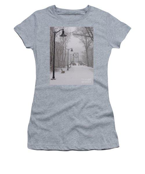 Snow At Bulls Island - 05 Women's T-Shirt