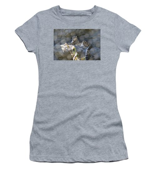 Snow Leopard    No.2 Women's T-Shirt (Athletic Fit)