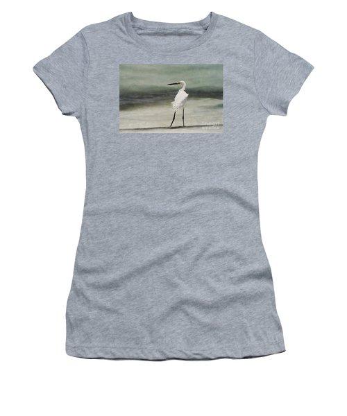 Snowy Egret Women's T-Shirt