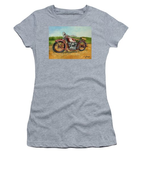 Sokol 1000 - Polish Motorcycle Women's T-Shirt (Athletic Fit)