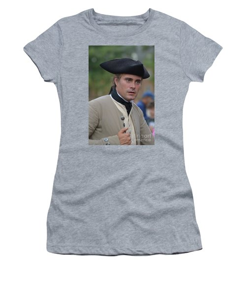 Soldier In Colonial Williamsburg Women's T-Shirt (Athletic Fit)