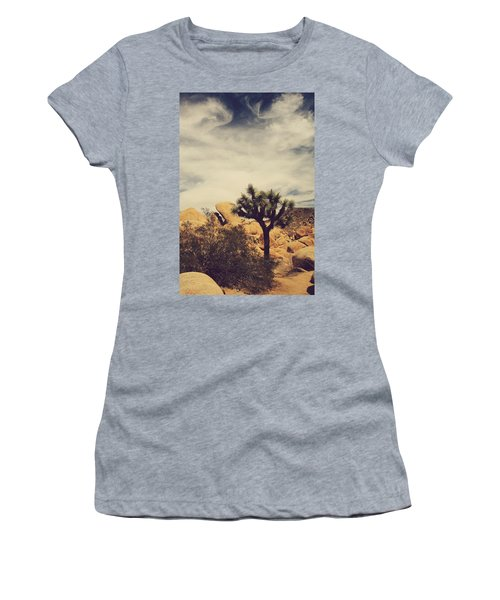 Women's T-Shirt featuring the photograph Solitary Man by Laurie Search