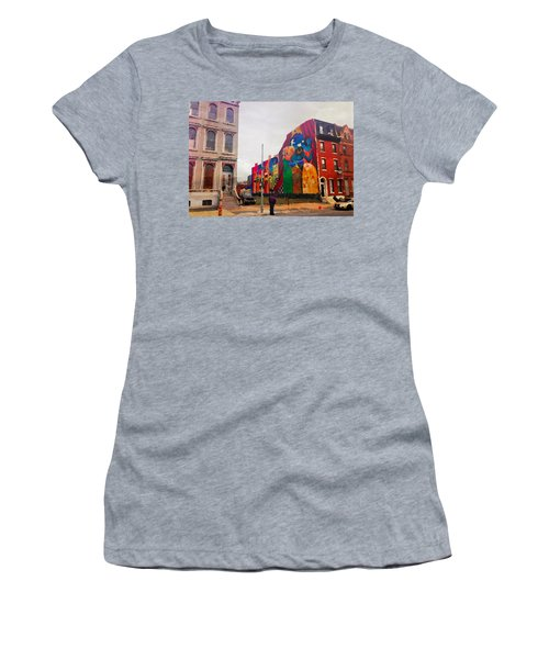 Some Color In Philly Women's T-Shirt