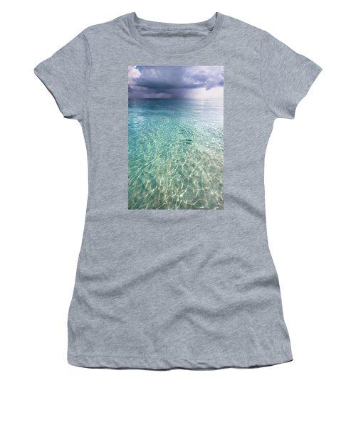 Somewhere Is Rainy. Maldives Women's T-Shirt