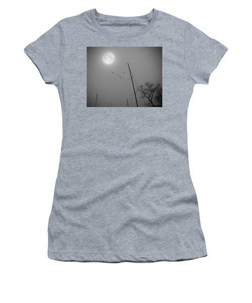 South For The Winter Women's T-Shirt (Junior Cut) by Brian Wallace