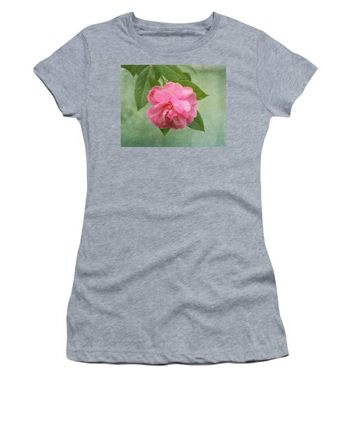 Southern Camellia Flower Women's T-Shirt