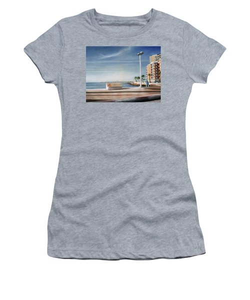 Spanish Coast Women's T-Shirt (Athletic Fit)