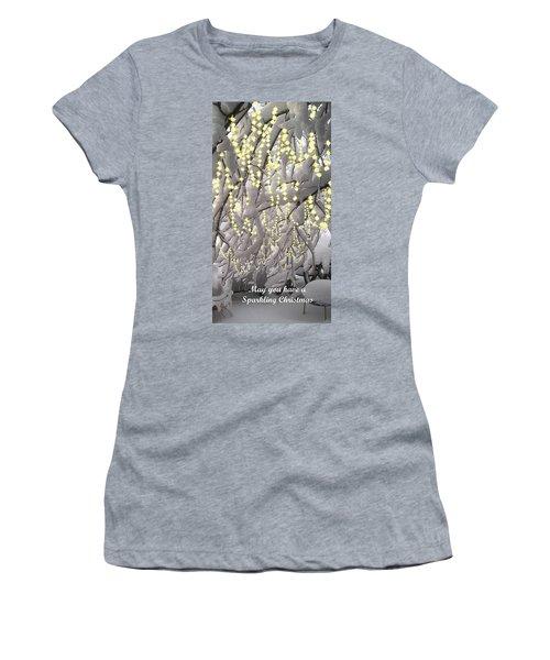 Sparkling Christmas Women's T-Shirt