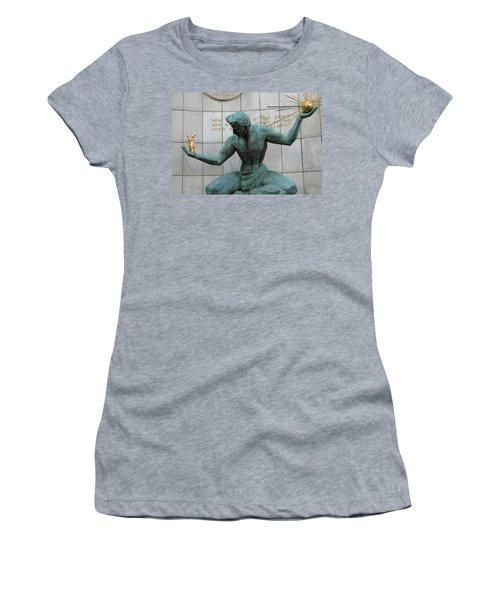 Spirit Of Detroit Women's T-Shirt (Athletic Fit)