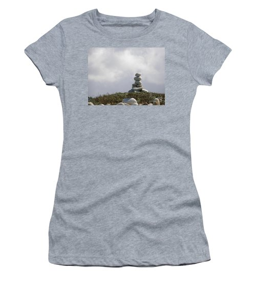 Spiritual Rock Sculpture Women's T-Shirt (Athletic Fit)