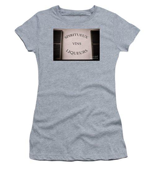 Spiritueux Vins Liqueurs Women's T-Shirt