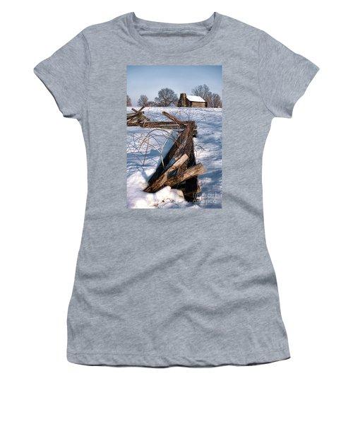 Split Rail And Nation Women's T-Shirt