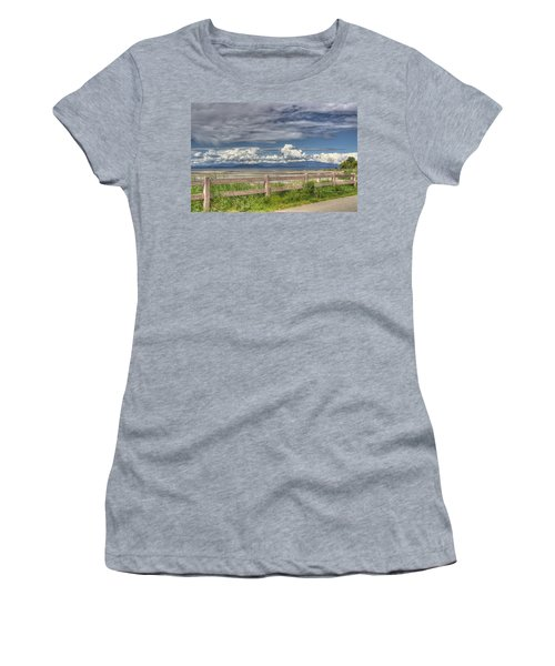 Spring Afternoon Women's T-Shirt (Junior Cut) by Randy Hall