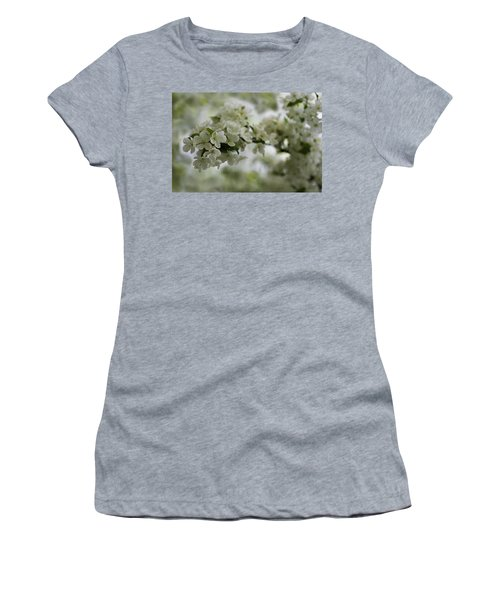 Women's T-Shirt (Athletic Fit) featuring the photograph Spring Bloosom by Sebastian Musial