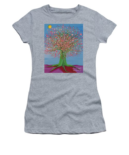 Spring Fantasy Tree By Jrr Women's T-Shirt (Athletic Fit)