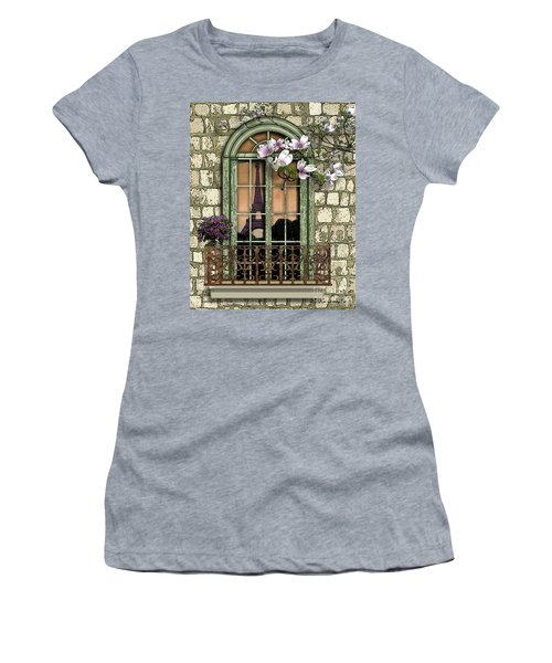 Springtime In Paris Women's T-Shirt
