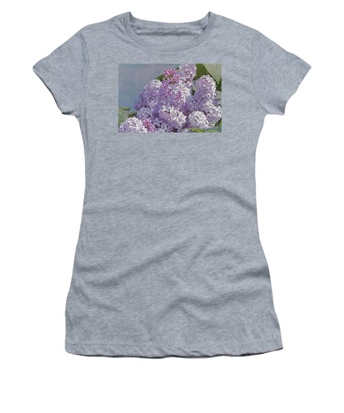 Springtime Lilacs Women's T-Shirt (Athletic Fit)