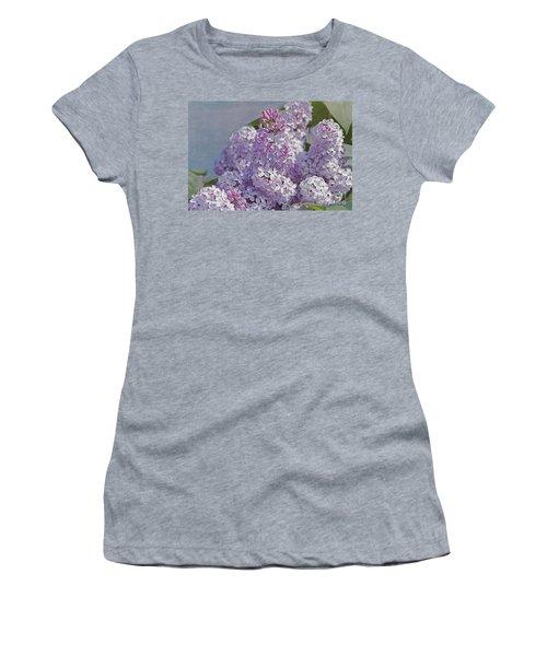 Springtime Lilacs Women's T-Shirt (Athletic Fit)