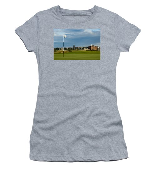 St Andrews Golf Women's T-Shirt (Athletic Fit)