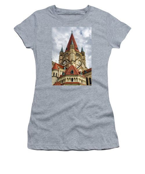St. Francis Of Assisi Church In Vienna Women's T-Shirt