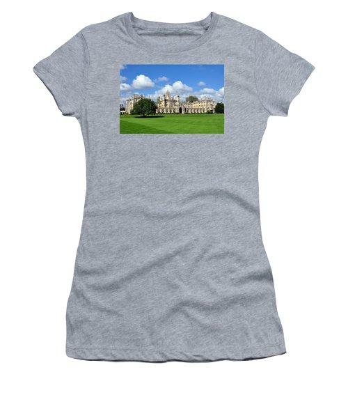 St. John's College Cambridge Women's T-Shirt (Athletic Fit)