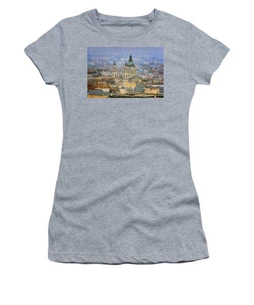 St Stephen's Basilica From Gellert Hill Women's T-Shirt