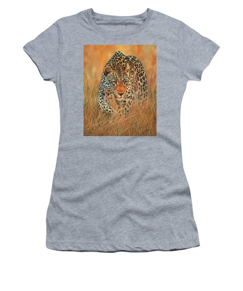 Stalking Leopard Women's T-Shirt