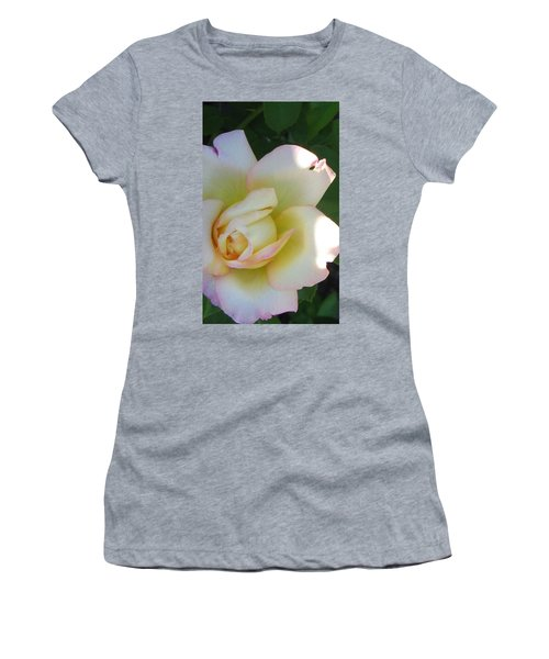 Stop And Smell Women's T-Shirt (Athletic Fit)