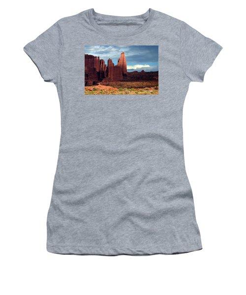 Storm Shadows Women's T-Shirt (Athletic Fit)