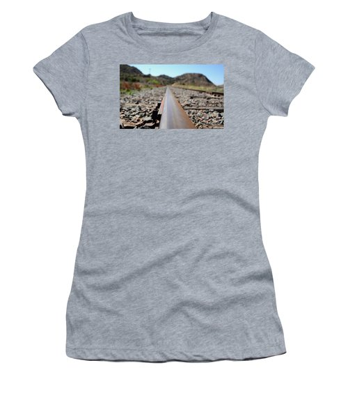 Straight And Narrow Women's T-Shirt (Athletic Fit)