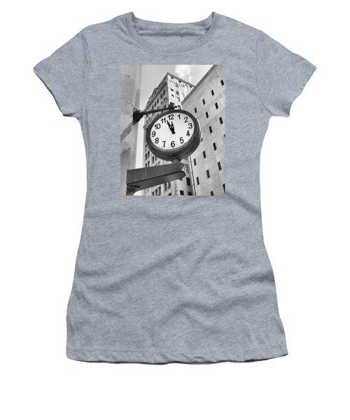 Street Clock Women's T-Shirt
