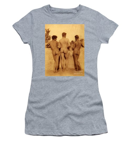 Study Of Three Male Nudes Women's T-Shirt