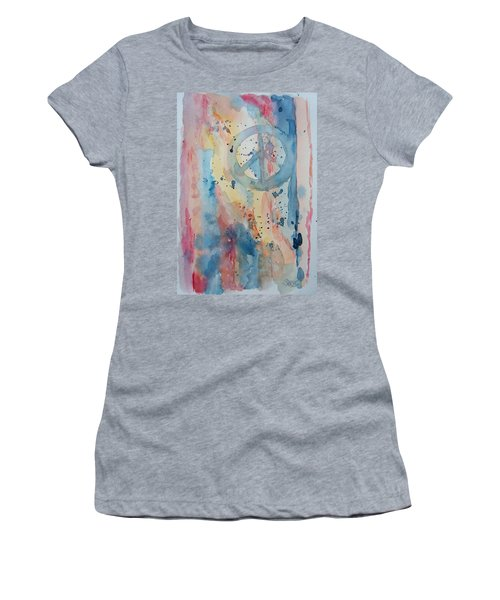 Subtle Peace Women's T-Shirt (Athletic Fit)