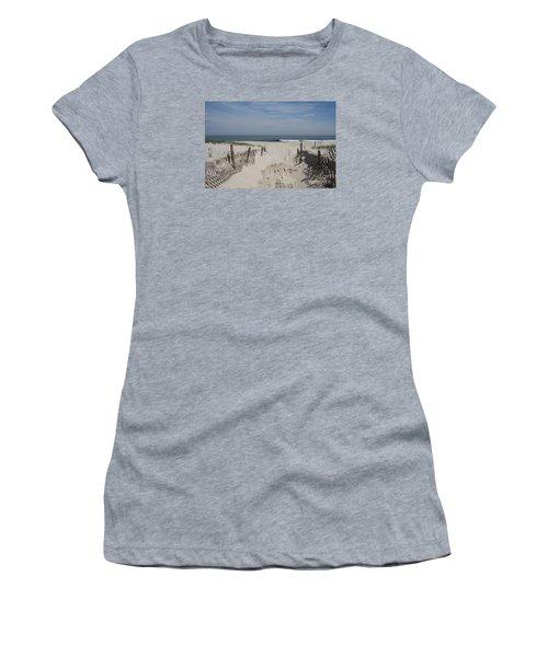 Sun And Sand Women's T-Shirt (Junior Cut) by Christiane Schulze Art And Photography