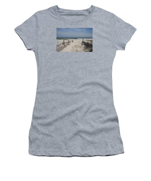 Sun And Sand Women's T-Shirt (Athletic Fit)