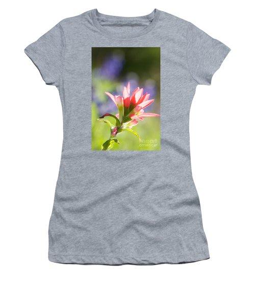 Sun Filled Paintbrush Women's T-Shirt (Athletic Fit)