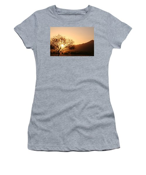Sun Tree Women's T-Shirt (Athletic Fit)